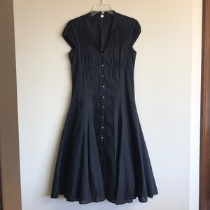 Margaret O'Leary: 100% Cotton Cap Sleeve Dress